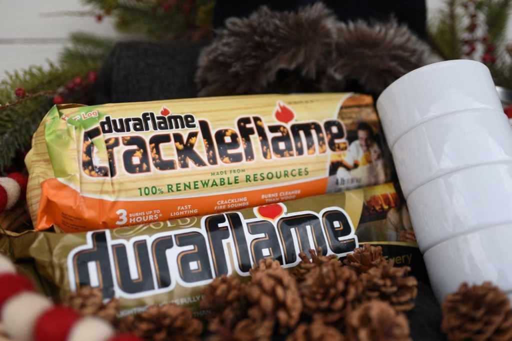 Warm winter gift basket
