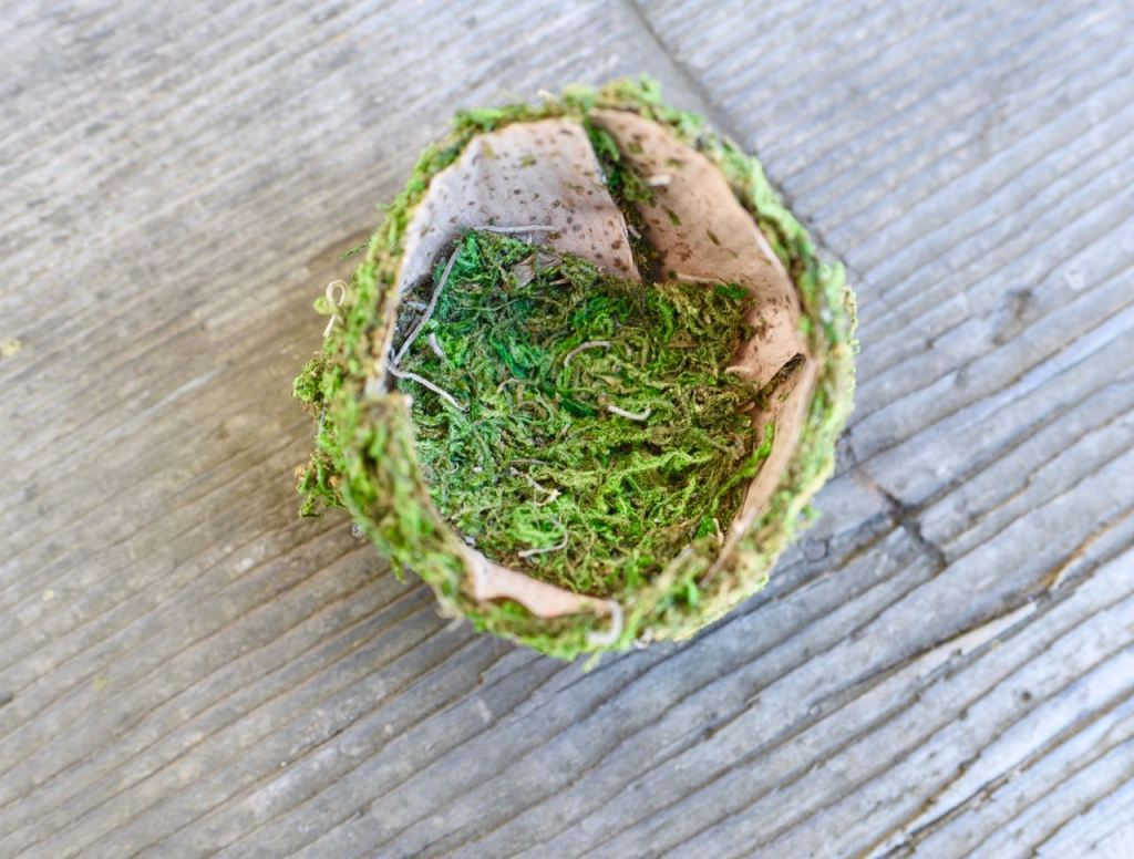 How to make a realistc bird nest for Easter and spring