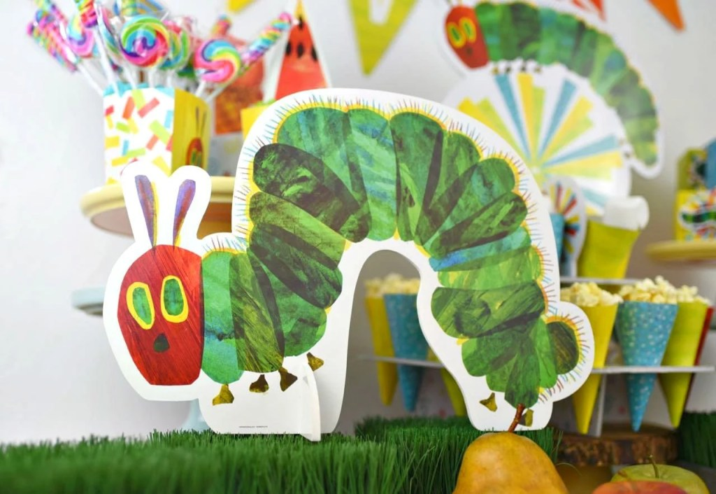 Eric Carle's The Very Hungry Caterpillar party ideas