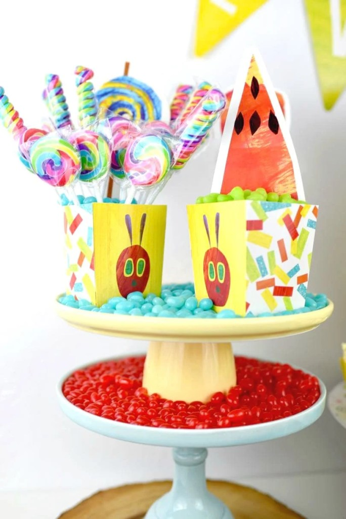 The Very Hungry Caterpillar party food ideas