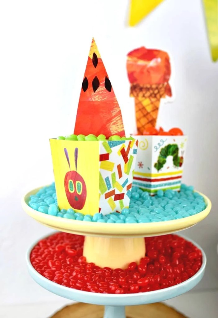 The Very Hungry Caterpillar party food ideas for kids.