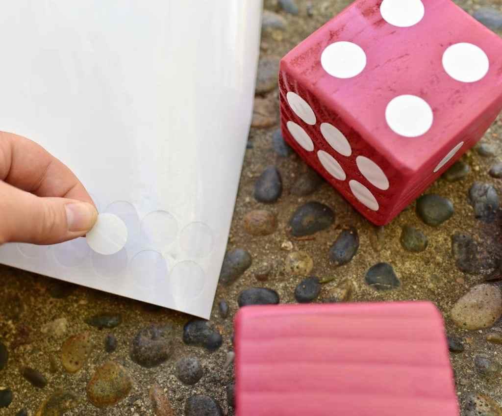 Giant Yahtzee Diy Outdoor Game For Summer Fun Make Life