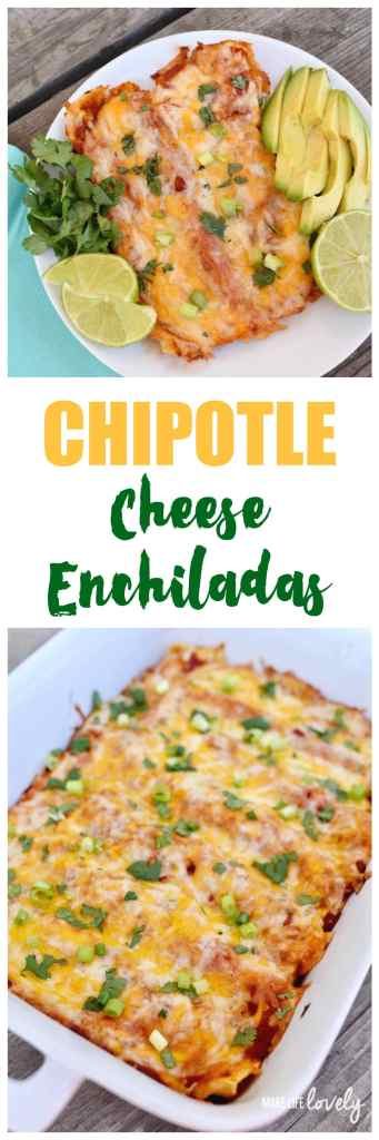 Chiptole Cheese Enchiladas Recipe
