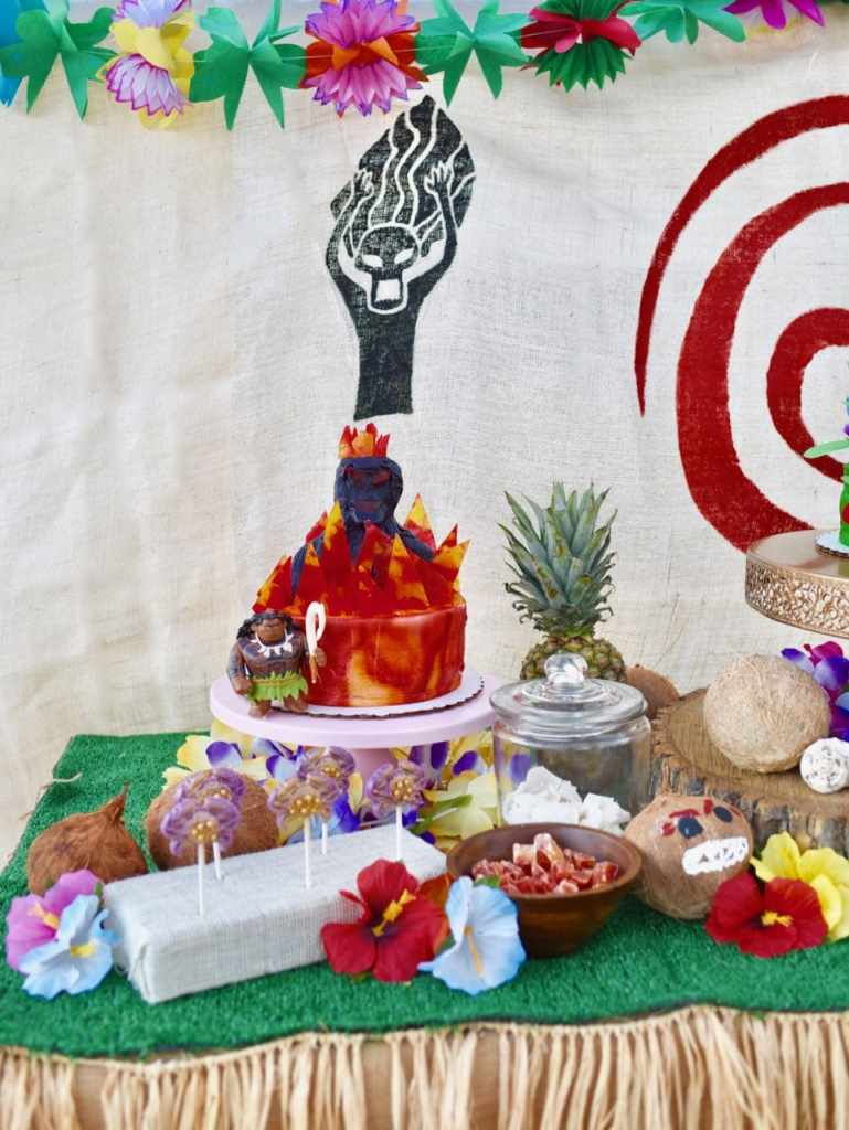 Moana birthday party ideas for a tropical party