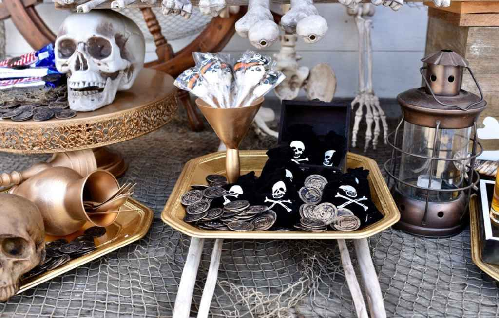 Goonies party decorations and ideas