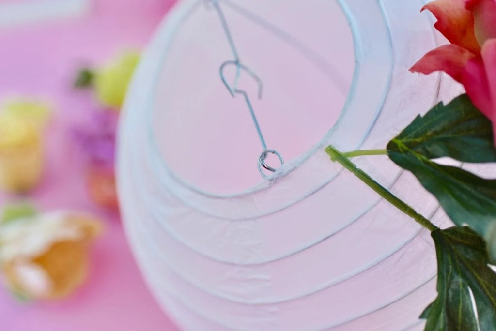 DIY Flower Paper Lanterns Tutorial Make