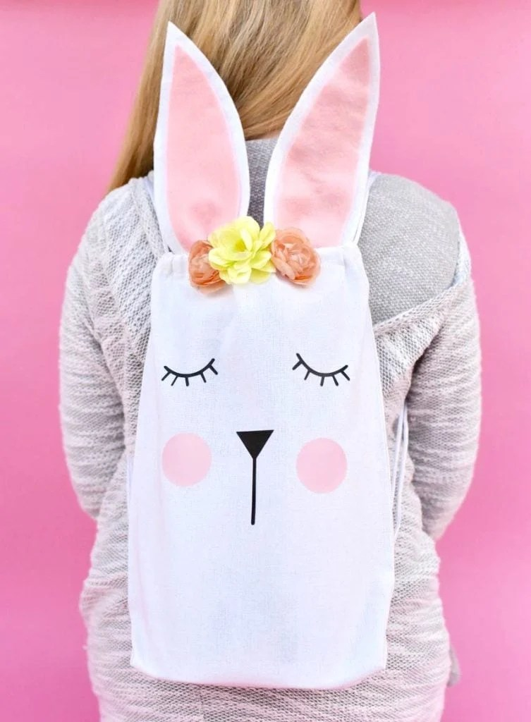 Easter Bunny Bag For Easter Egg Hunts Party Favors And