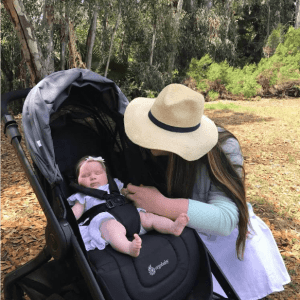 Out and About with the ErgoBaby 180 Reversible Stroller