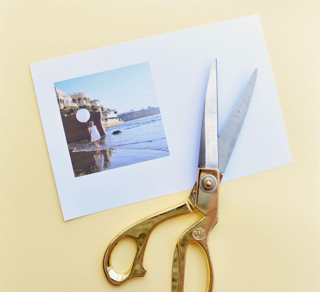 DIY vacation memory box tutorial