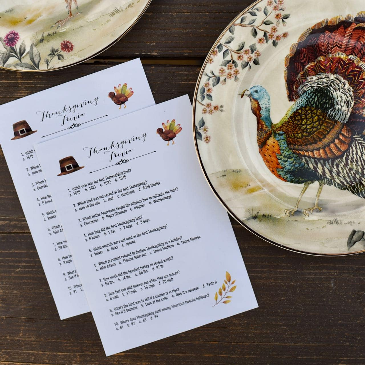 Thanksgiving Trivia Game To Enjoy With Dinner Free