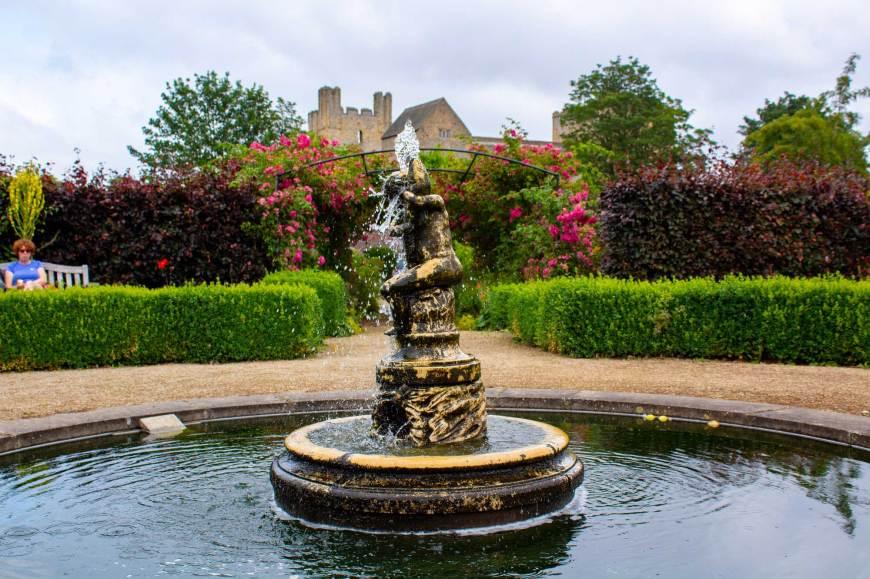 Fountain in Helmsley Walled Garden