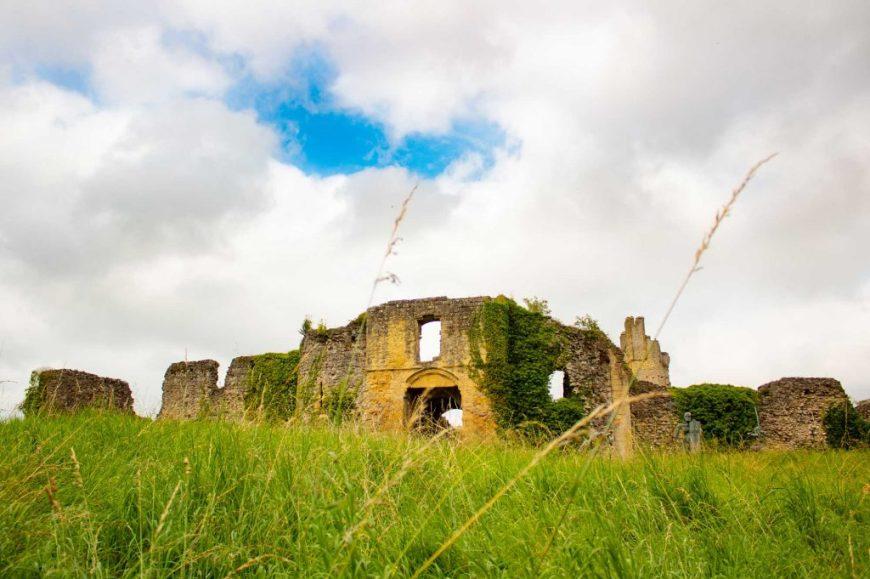 Helmsley Castle South Entrance