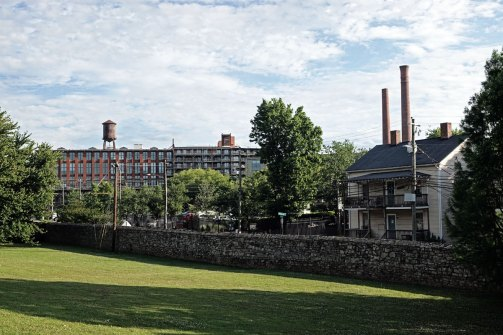 A view of the mill from potter's field in Historic Oakland Cemetery. Oakland Cemetery is worthy of its own post and perhaps I will do one next time we visit Atlanta.