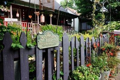 Carol's house and certified wildlife habitat.