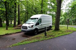 Camped at Rocky Knob Campground. $20 per night.