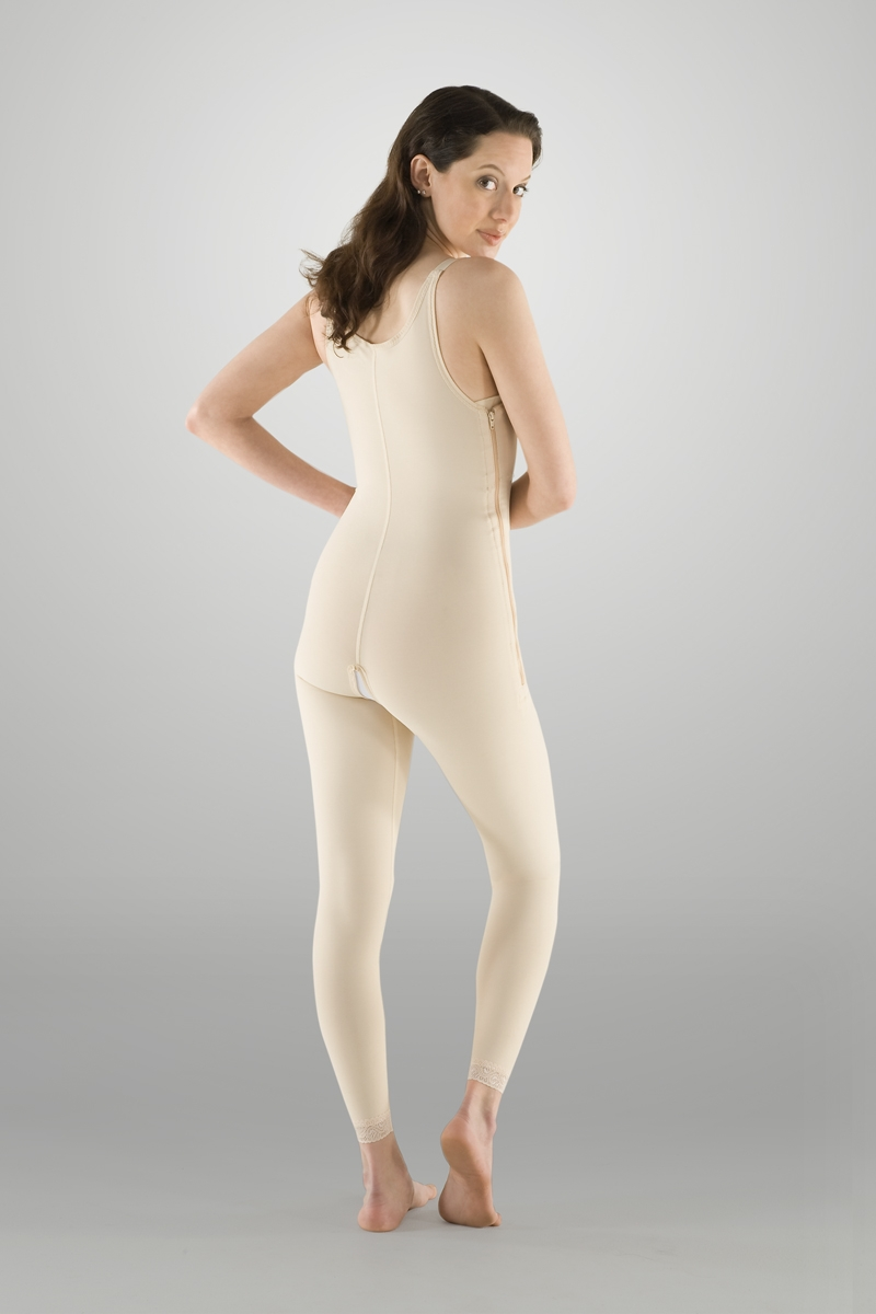 Full Body Plastic Surgery Compression Garment W Bra