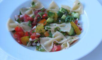 Bowtie & Garden Vegetables