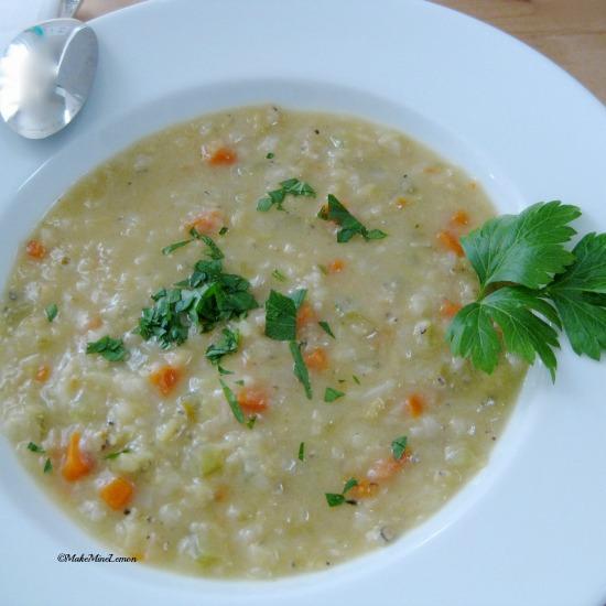 ©MakeMineLemon - Golden Lentil Soup