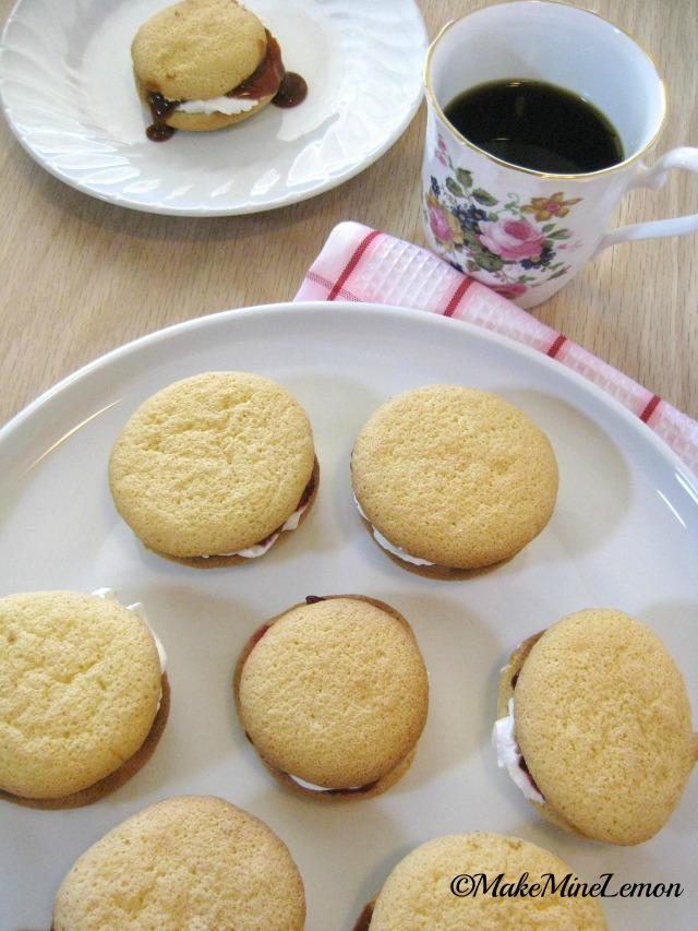MakeMineLemon - Powder Puff Cookies