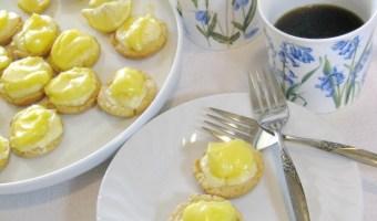 Lemon Tassies – It's The Little Things.