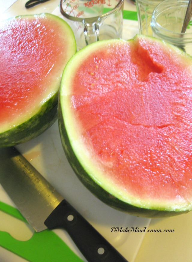 Watermelon for Red Fruit Salad