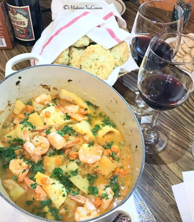 Pot of Fish Stew