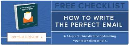 How to write the perfect email on blue background