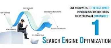 Search Engine Optimization a man sitting down with Laptop
