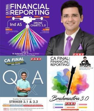 CA Final New FR Latest Batch Full Book Set New Syllabus By CA Sarthak