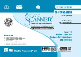 Shuchita Solved Scanner CA Foundation BLBCR By CA Amar Omar