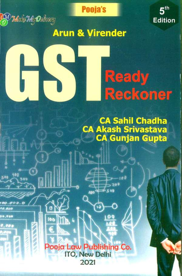 Pooja Law House GST Ready Reckoner Arun Kumar Gupta