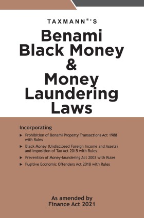 Taxmann Benami Black Money & Money Laundering Laws