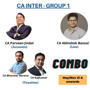 Video Lecture CA Inter Combo Group 1 By CA Parveen Jindal