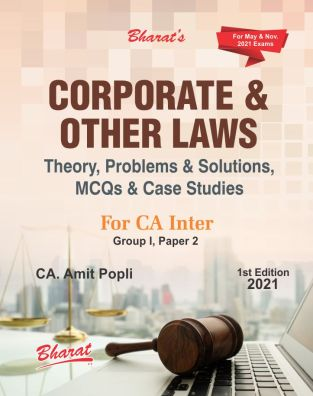 Problem Solutions MCQs Corporate and Other Laws CA Amit Popli