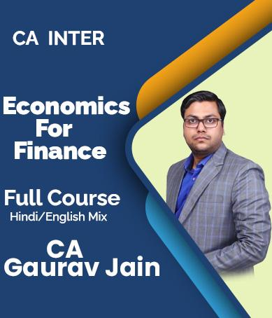 Video Lecture CA Inter Group 2 EF New Syllabus By CA Gaurav Jain