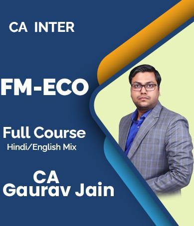 Video Lecture CA Inter Group 2 FMEFM New Syllabus By CA Gaurav Jain