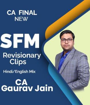 Video Lecture CA Final SFM Revisionary Clip by CA Gaurav Jainn