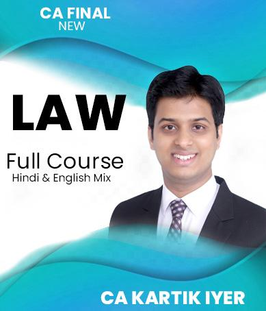 Video Lectures CA Final Corporate And Economic Laws By Kartik Iyer
