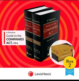LexisNexis A Ramaiya Guide to the Companies Act By Ramaiya