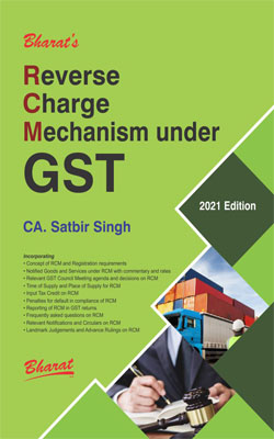 Bharat Reverse Charge Mechanism under GST By CA Satbir Singh