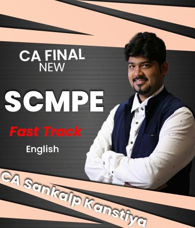 Video Lectures CA Final COSTING (SCMPE) Fast Track Full English New Syllabus By CA Sankalp Kanstiya Applicable for November 2021 Exams