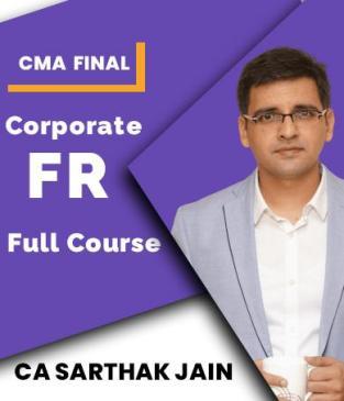 Video Lecture CMA Final Corporate Financial Reporting CA Sarthak Jain