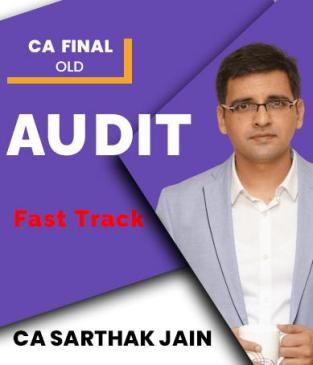 Video Lecture CA Final Audit Latest Faster By CA Sarthak Jain