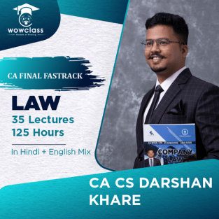 Video Lecture CA Final Law Fast Track Course By CA Darshan Khare