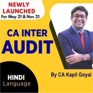 Video Lecture CA Inter Audit Regular Full Course CA Kapil Goyal