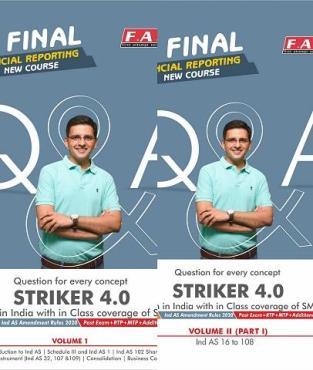 CA Final Books-FR Books Question & Answer Striker CA Sarthak Jain