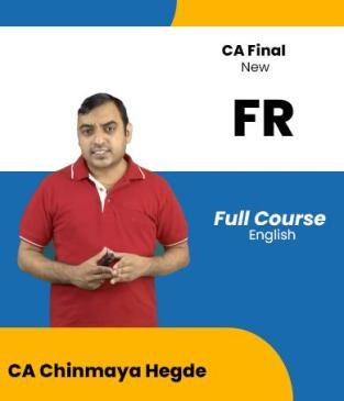 Video Lecture CA Final Financial Reporting Regular Chinmaya Hegde