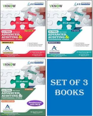 Advanced Auditing Professional Ethics CA Final By Vinod Kumar Agarwal