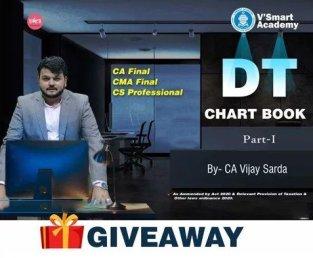 CA Final DT Chart Book (Giveaway) by CA Vijay Sarda