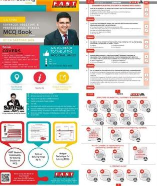 CA Final Audit MCQs Book Old And New Syllabus By Sarthak Jain
